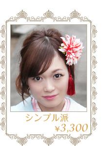 成人式・卒業式用の髪飾り(3000円台)シンプル派のあなたへ