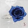ブルーのジュエルリングの写真