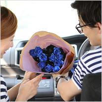 青い煌薔薇(きらめきばら)