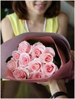 煌薔薇~輝くバラの花束 6480円(税込)