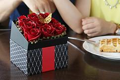 BOXアレンジメント(煌薔薇)
